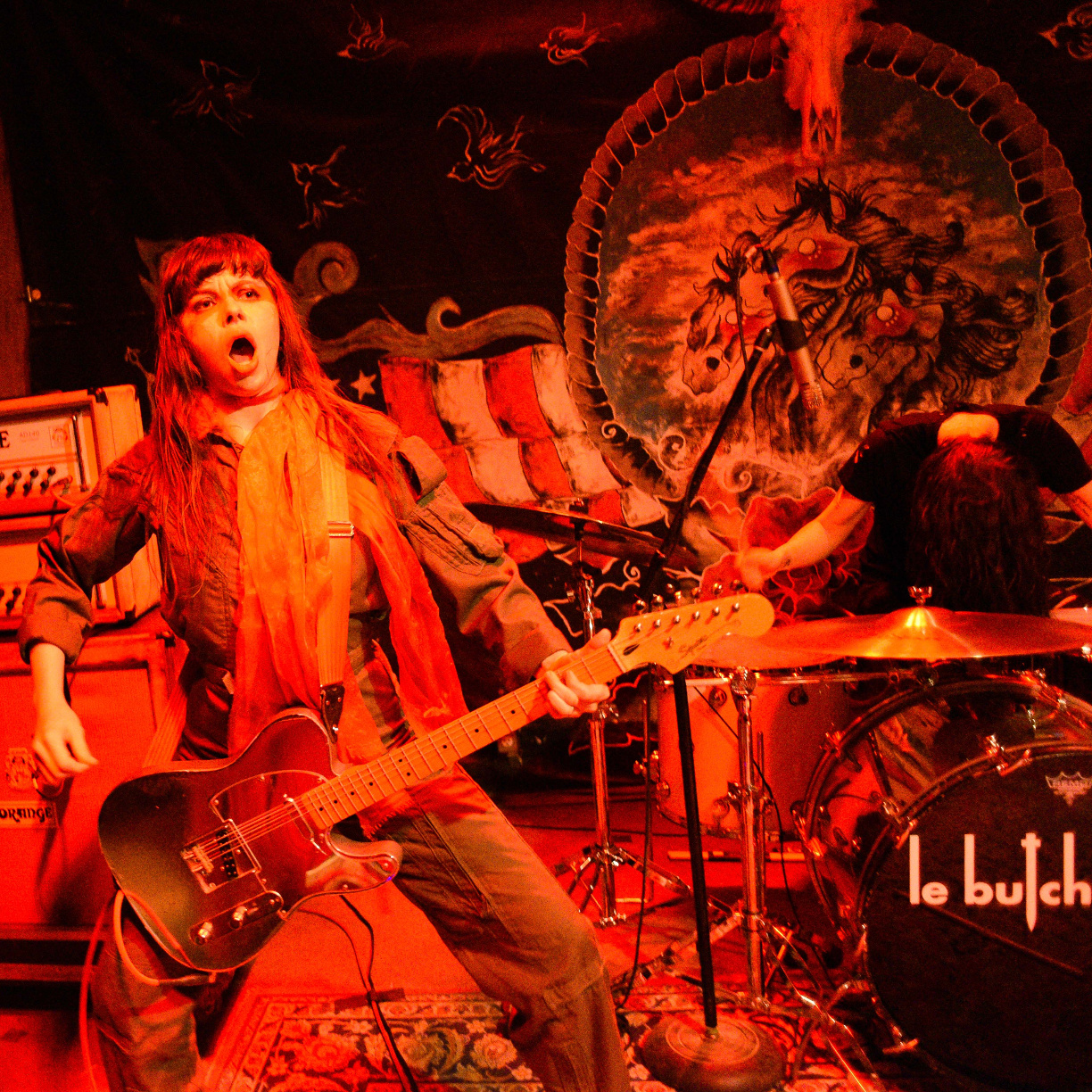 images/Le Butcherettes at Pappy and Harriets/Mouth Agape